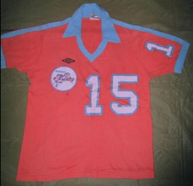 Minnesota Kicks 77 Road Jersey Stan Cummins