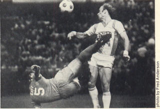 NASL Soccer Minnesota Kicks 79 Road Back Steve Litt