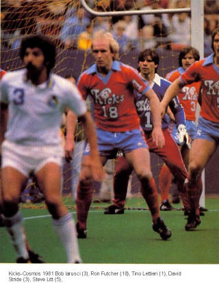 NASL Soccer Minnesota Kicks 81 Road Ron Futcher