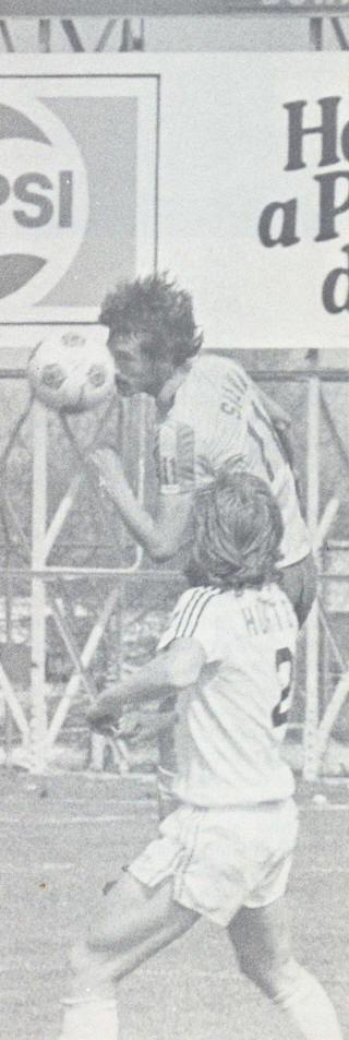 Detroit Express at Rochester Lancers 1979 Ibriam Silva, Paul Hunter