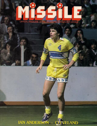Cleveland Force 1980-81 Road Ian Anderson