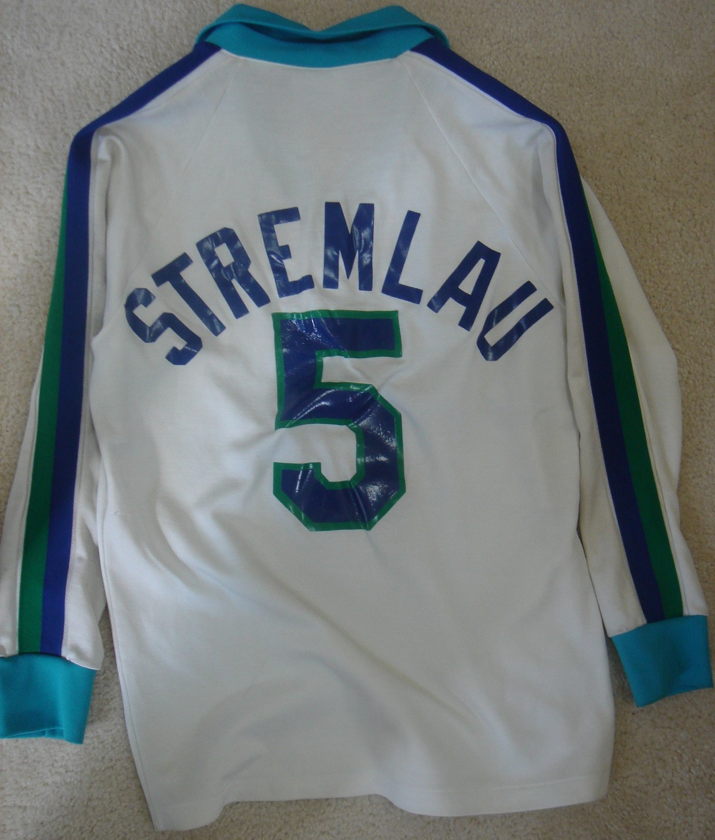 John Stremlau Major Indoor Soccer League Jerseys