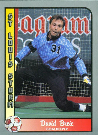 Storm 89-90 Goalie David Brcic
