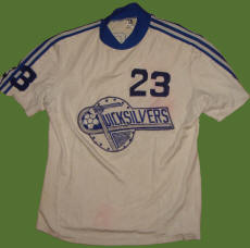 NASL Soccer Las Vegas Quicksilvers 77 Home Jersey Chris Horrocks