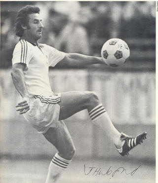 NASL Soccer Memphis Rogues 80 Home Jimmy Husband
