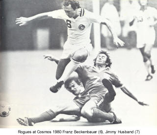 NASL Soccer Memphis Rogues 80 Road Jimmy Husband