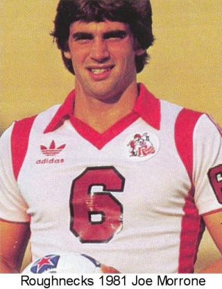 NASL Soccer Tulsa Roughnecks 81 Home Joe Morrone (2)