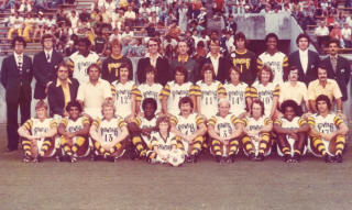 Tampa Bay Rowdies 1976 Home Team