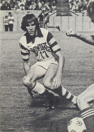Tampa Bay Rowdies 1977 Home Kevin Eagan