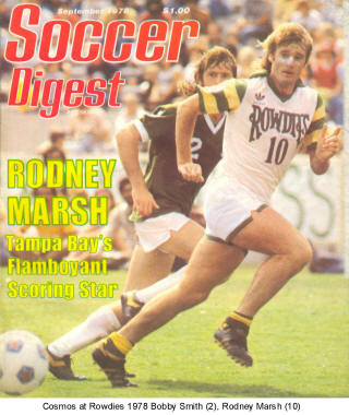 NASL Soccer Tampa Bay Rowdies 78 Home Rodney Marsh (2)