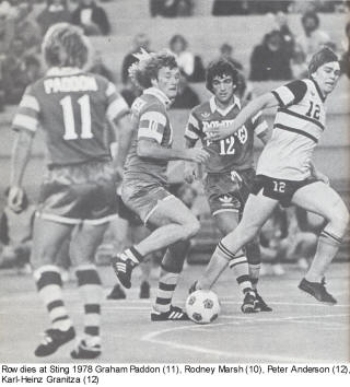 NASL Soccer Tampa Bay Rowdies 78 Road Back Graham Paddon