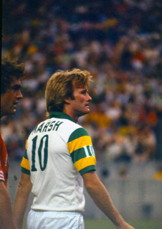 NASL Soccer Tampa Bay Rowdies 79 Home Back Rodney Marsh
