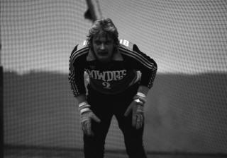 Rowdies 79-80 Indoor Goalie Back Zeljko Bilecki, Strikers