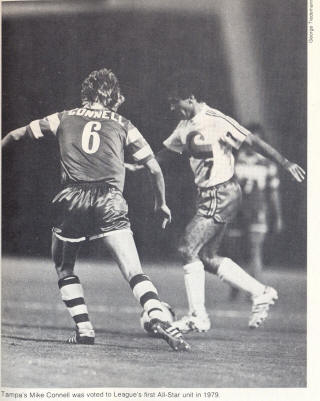 NASL Soccer Tampa Bay Rowdies 80 Road Back Mike Connell