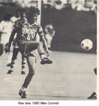NASL Soccer Tampa Bay Rowdies 80 Road Mike Connell 2