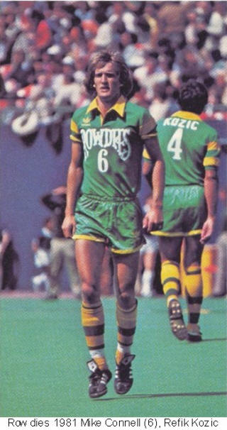 NASL Soccer Tampa Bay Rowdies 81 Road Mike Connell 2