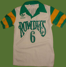 NASL Soccer Tampa Bay Rowdies 81-84 Home Jersey Mike Connell