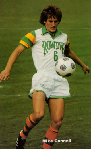 Rowdies 82 Home Mike Connell Poster