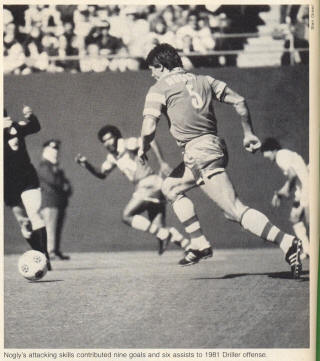NASL Soccer Tampa Bay Rowdies 82 Road Back Peter Nogly