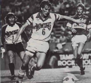 NASL Soccer Tampa Bay Rowdies 1983 Home Connell, Stars, Whitecaps