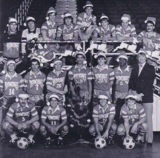 Rowdies 83-84 Indoor Road Team