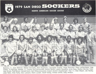 NASL Soccer San Diego Sockers 79 Home Team