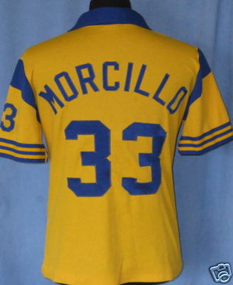 NASL Soccer San Diego Sockers 83-84 Home Jersey Willy Morcillo Back