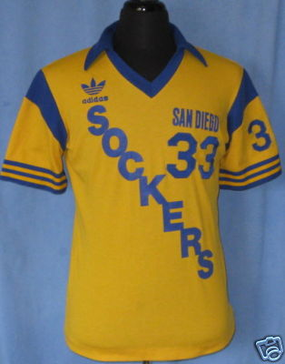 NASL Soccer San Diego Sockers 83-84 Home Jersey Willy Morcillo.jpg