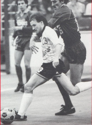 Sockers 85-86 Home Back Jean Willrich, Strikers