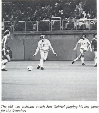 NASL Soccer Seattle Sounders 76 Home Jim Gabriel 2