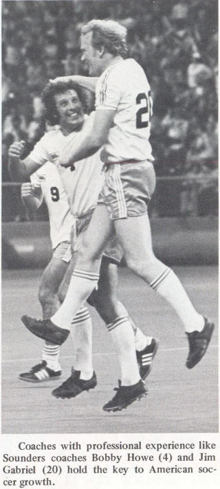 NASL Soccer Seattle Sounders 77 Home Back Jim Gabriel