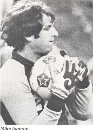 NASL Soccer Seattle Sounders 79 Goalie Mike Ivanow 2