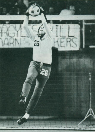NASL Soccer Seattle Sounders 1979 Goalie Mike Ivanow