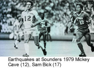NASL Soccer Seattle Sounders 79 Home Mickey Cave