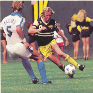 NASL Soccer Seattle Sounders 81 Home Back Shaun Elliott