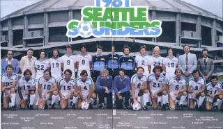 NASL Soccer Seattle Sounders 81 Home Team.JPG