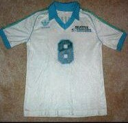 NASL Soccer Seattle Sounders 81-82 Home Jersey Roger Davies