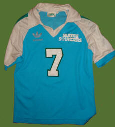 NASL Soccer Seattle Sounders 82-83 Road Jersey Mark Peterson