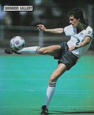 NASL Soccer Seattle Sounders 83 Home Chance Fry