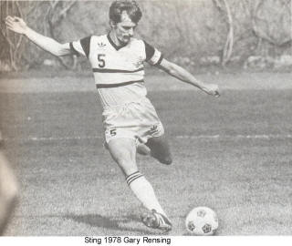 NASL Soccer Chicago Sting 78 Home Gary Rensing 2 (2)