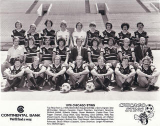 NASL Soccer Chicago Sting 78 Road Team.JPG
