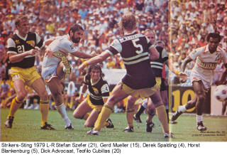 NASL Soccer Chicago Sting 79 Road Back Horst Blankenburg