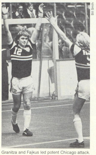 NASL Soccer Chicago Sting 80-81 Indoor Road Karl-Heinz Granitza