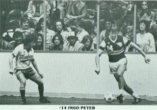 Sting 81-82 Indoor Road Ingo Peter, Timbers Jimmy Kelly