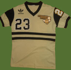 NASL Soccer Chicago Sting 81-83 Home Jersey Bret Hall