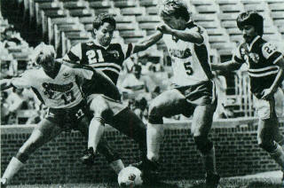 Sting 82 Road Bret Hall Tim Twellman, Earthquakes, Steve Litt