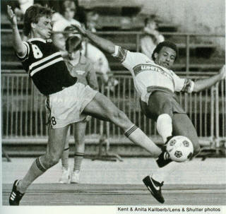 Chicago Sting 1983 Road Peter Gallagher 5-27-83