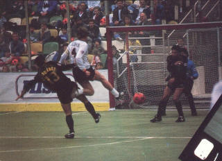 MISL Chicago Sting 87-88 Home Back Oscar Albuquerque