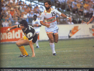 NASL Soccer Ft. Lauderdale Strikers 79 Home Gerd Mueller