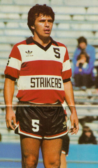 NASL Soccer Ft. Lauderdale Strikers 81 Road Elias Figueroa